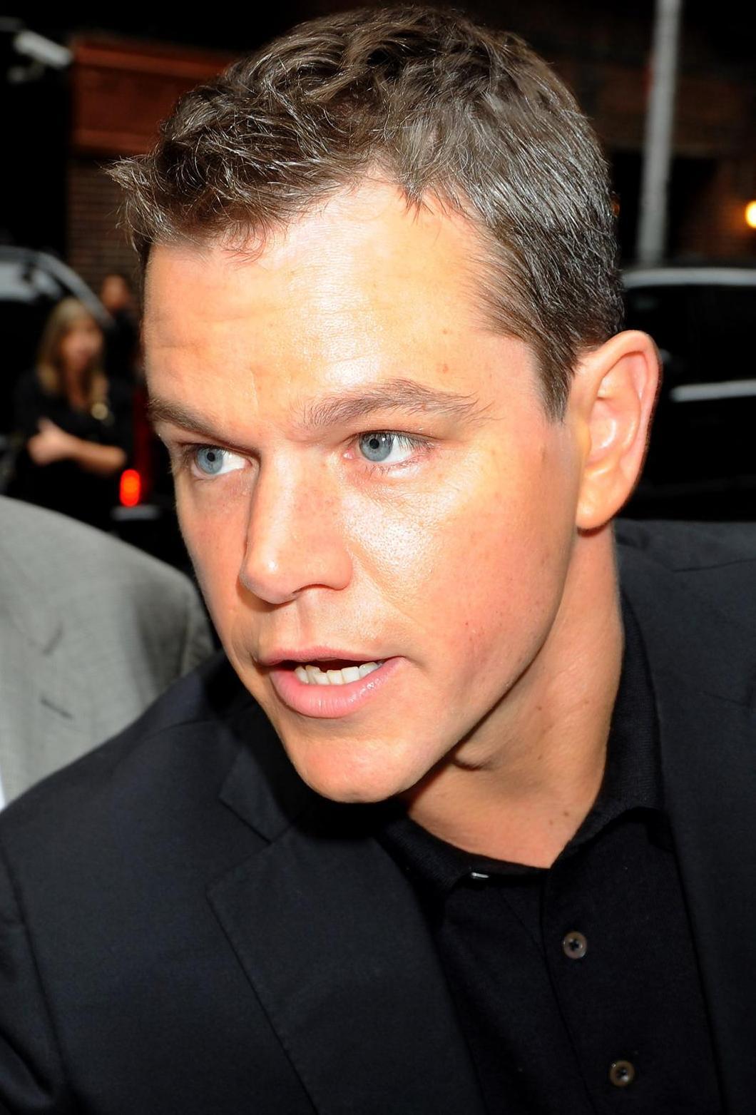 Matt Damon The Male Celebrity