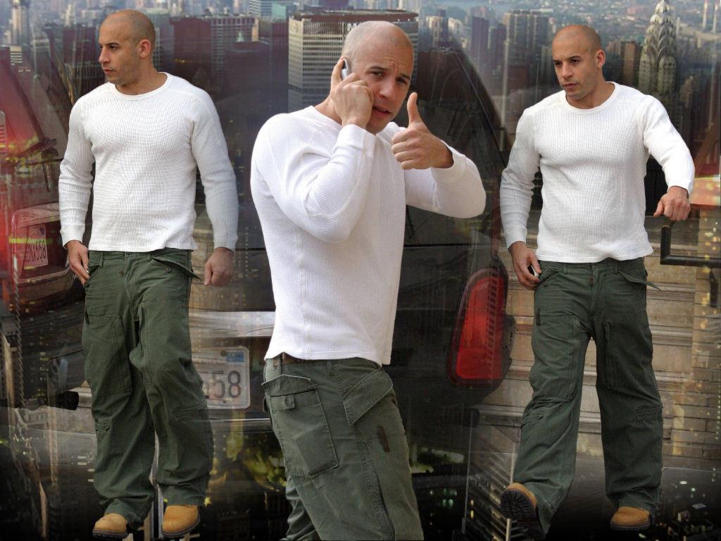 Vin Diesel The Male Celebrity