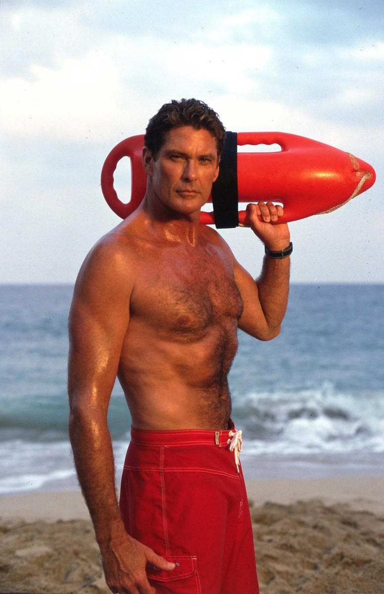 """Photos de la série """"Alerte à Malibu"""" (""""Baywatch""""). Retro. CP."""